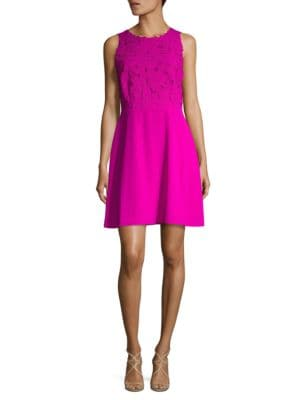 Embroidered Sheath Dress by Nue By Shani