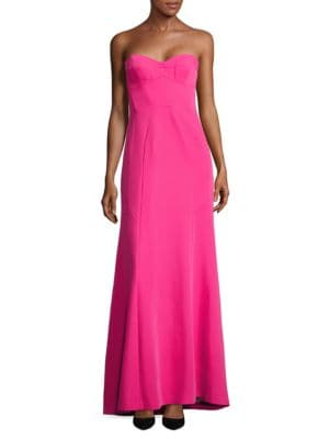 Sweetheart Strapless Gown by BCBGMAXAZRIA