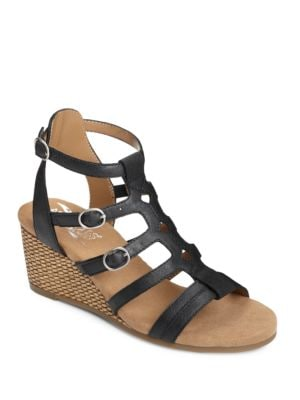 Sparkle Strappy Wedge Sandals by Aerosoles