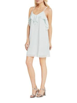 Solid Ruffled Dress by BCBGeneration
