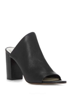 Sloan Leather Heeled Slides by 1.STATE