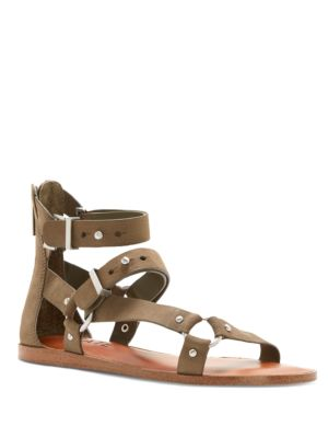 Leather Strappy Sandals by 1.STATE
