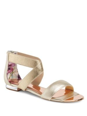 Laana Leather Flat Sandals by Ted Baker London
