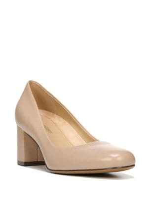 Whitney Leather Pumps by Naturalizer