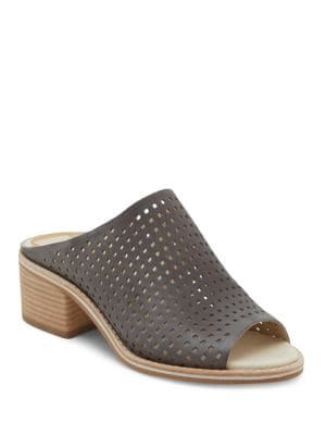 Kyla Perforated Leather Mules by Dolce Vita