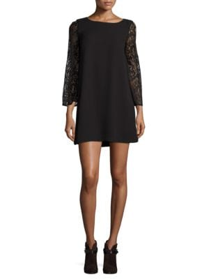 Boatneck Lace Dress by BB Dakota