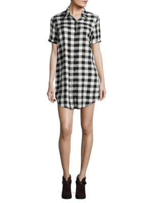 Alexia Plaid Shirtdress by BB Dakota