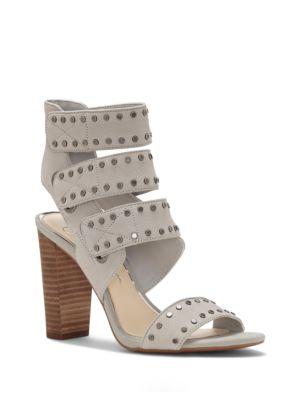 Elanna Studded Block Heel Sandals by Jessica Simpson