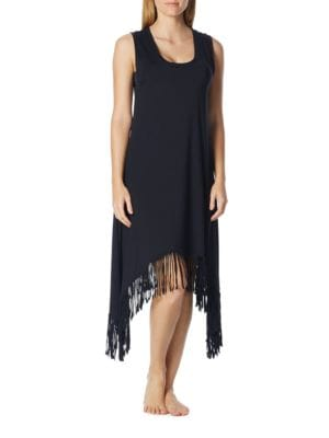 Fringed Midi Dress by Coco Rave