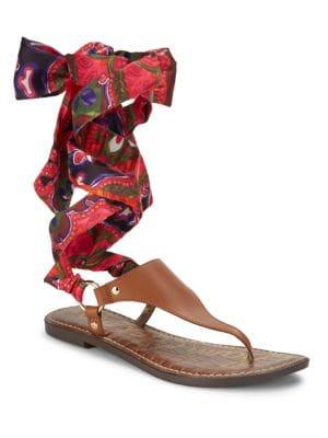 Gilliana Leather Sandals by Sam Edelman