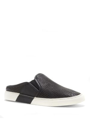 Bretta Leather Slip On Sneakers by Vince Camuto