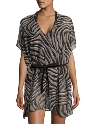 Printed Cover-Up Tunic by MICHAEL MICHAEL KORS