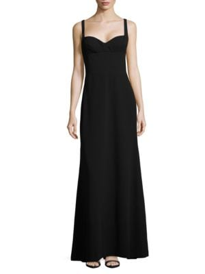 Crepe A-Line Gown by Vera Wang
