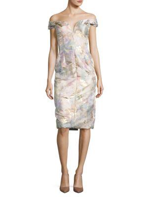 Floral Off-the-Shoulder Dress by Ivanka Trump