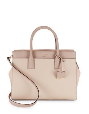 Candace Leather Satchel 500035325422