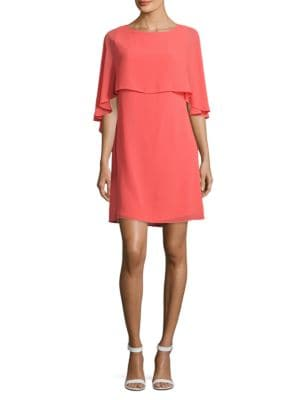 Solid Popover Sheath Dress by Vince Camuto