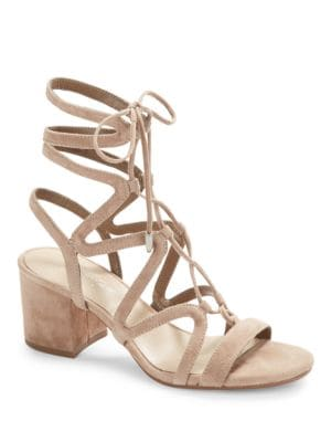Honey Lace-Up Sandals by 424 Fifth