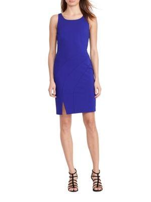 Scoop-Back Sheath Dress by Lauren Ralph Lauren