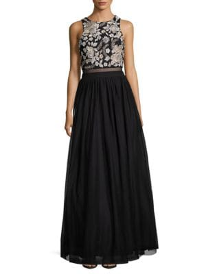 Embellished Ballgown by Betsy & Adam