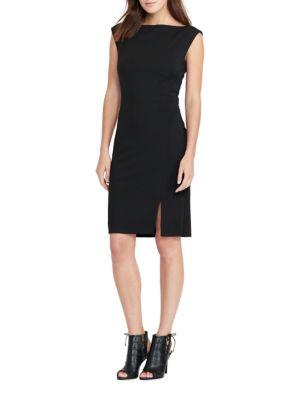 V-Back Jersey Dress by Lauren Ralph Lauren