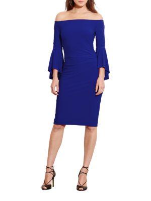 Off-the-Shoulder Jersey Dress by Lauren Ralph Lauren