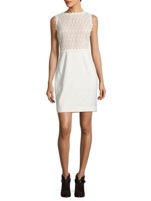 Sleeveless Ivory Dress by Ivanka Trump