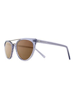 683c2fafd80 Product image. QUICK VIEW. H Halston. 53mm Modified Cat-Eye Sunglasses