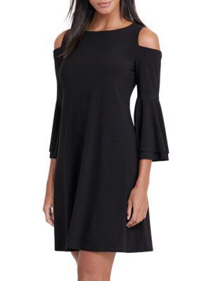 Bell-Sleeve Jersey Dress by Lauren Ralph Lauren