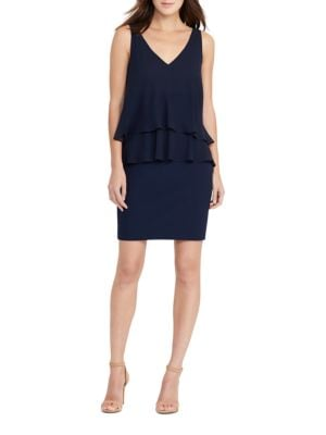 Georgette Tier Dress by Lauren Ralph Lauren