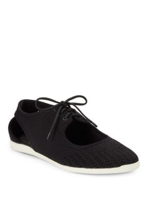 Elliot Cutout Lace-Up Sneaker by Via Spiga