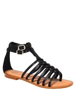 Boardwalk Leather Sandals by Naughty Monkey