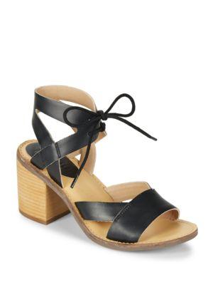 Vela Leather Lace-Up Sandals by Latigo