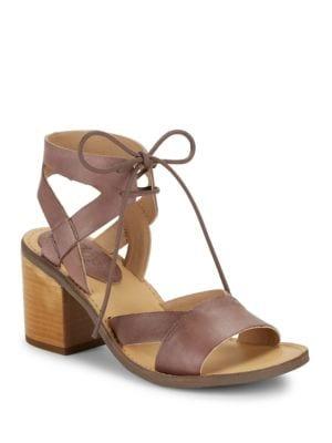Vela Lace-Up Sandals by Latigo
