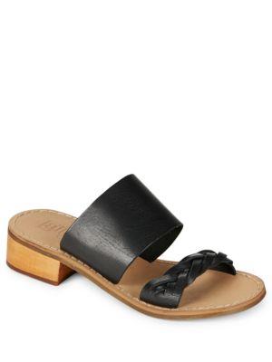 Tapas Leather Contrast Sandals by Latigo