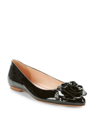 Photo of Ellie Patent Leather Flats by Kate Spade New York - shop Kate Spade New York shoes sales