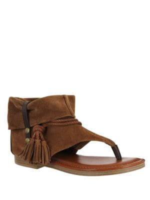 Natasha Suede Transitional Sandals by Mia