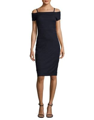 Textured Off-The-Shoulder Knit Dress by Guess