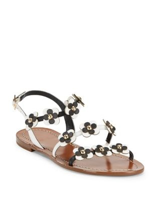 Colorado Leather Floral Sandals by Kate Spade New York