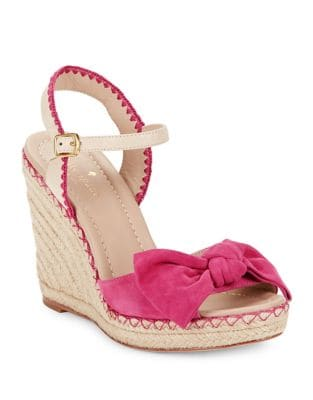 Jane Suede Wedge Espadrilles by Kate Spade New York