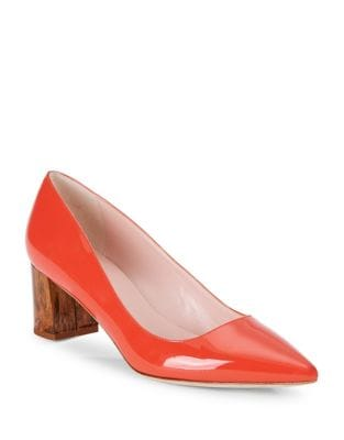 Milan Patent Leather Point Toe Pumps by Kate Spade New York