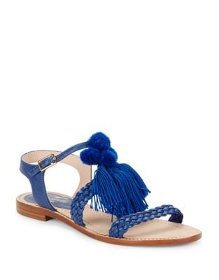Sunset Leather Sandals by Kate Spade New York