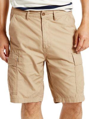 Cotton Cargo Shorts @...