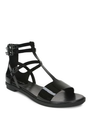 Wave Flat Leather Sandals by Tahari