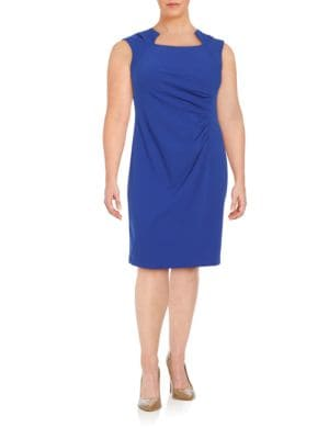 Ruched Sheath Dress by La Petite Robe di Chiara Boni
