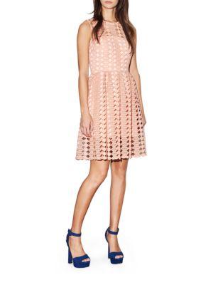 Geo Lace Dress by Cynthia Rowley