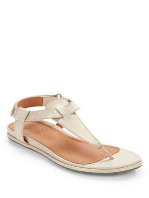 Oxford Leather Thong Sandals by Gentle Souls