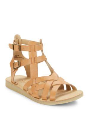 Wow Leather Gladiator Sandals by Latigo
