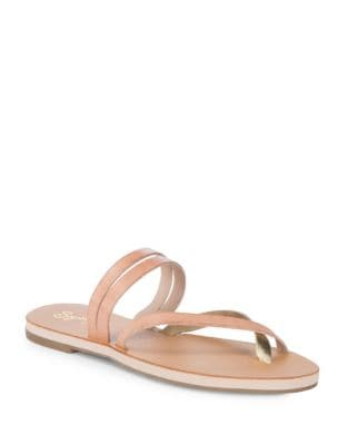 Starlet Leather Double Strap Thong Sandals by Seychelles
