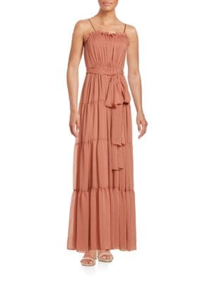 Ruffle Tiered Gown by Jill Jill Stuart