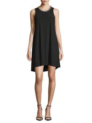 Embellished Knit Dress by Karl Lagerfeld Paris